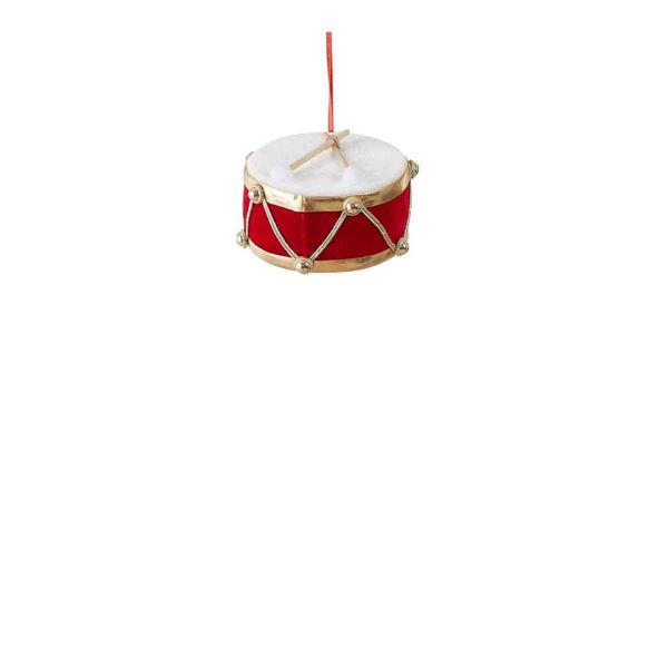 285724-Tambour rouge