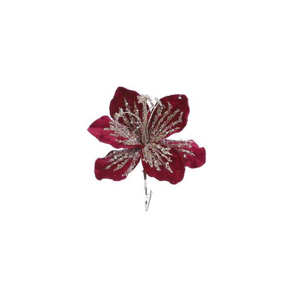 285816-Clip magnolia rouge