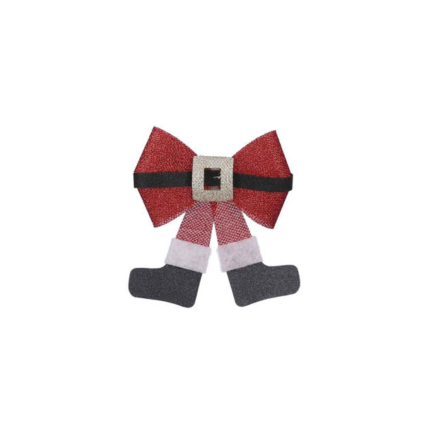 285817-Noeud rouge 21cm