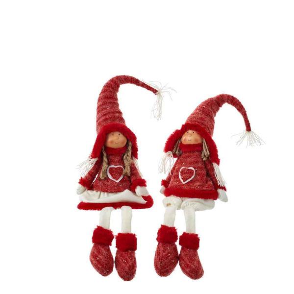 290240-Poupee garcon ou fille rouge 60